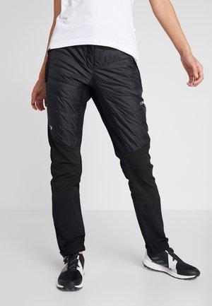 WOMAN PANT - Trousers - nero