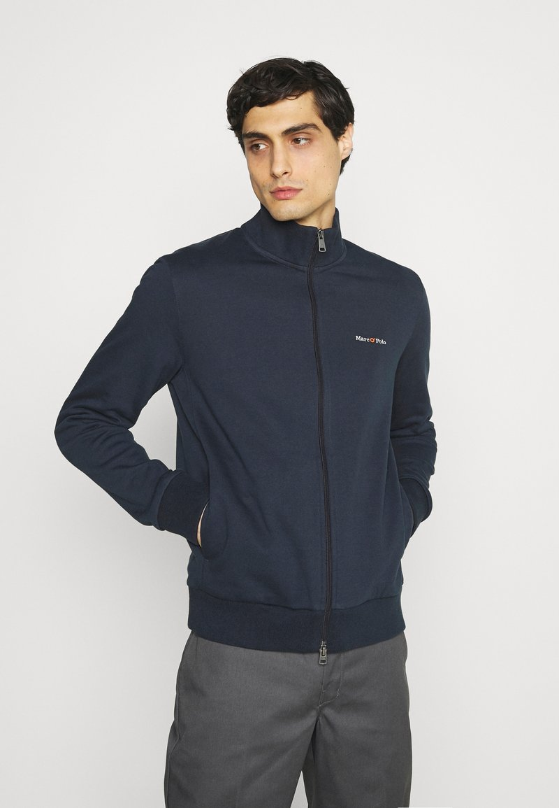 Marc O'Polo - JACKET - Zip-up hoodie - total eclipse