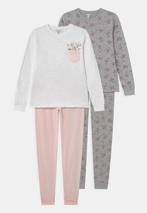TEEN 2 PACK - Pyjama set - rosewater/light grey melange
