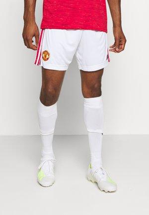 MANCHESTER UNITED SPORTS FOOTBALL SHORTS - Sports shorts - white