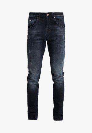SEAHAM  - Slim fit jeans - blue-black denim