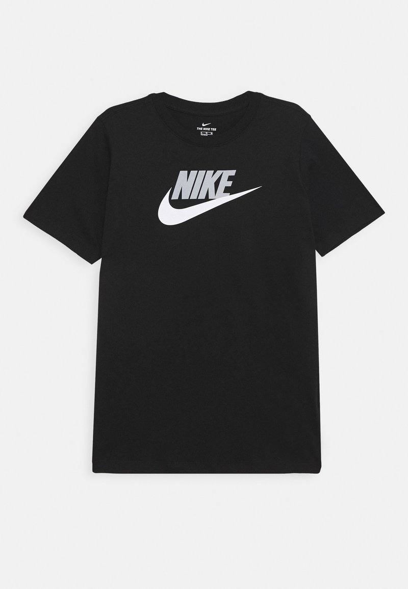 Nike Sportswear - FUTURA ICON - T-shirt print - black/smoke grey