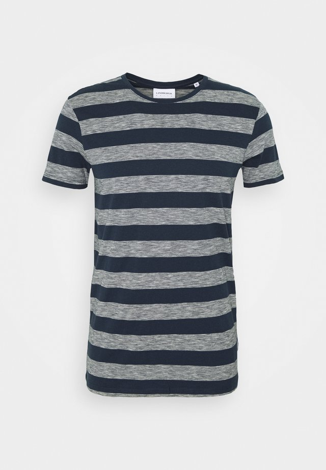 STRIPED TEE - T-shirts print - navy