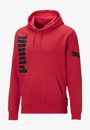 Sweatshirt - high risk red