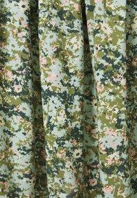 Marc O'Polo DENIM - SKIRT - Mini skirt - multi/fresh herb - 2