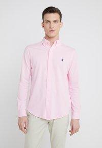 Polo Ralph Lauren - FEATHERWEIGHT MESH SHIRT - Košile - carmel pink - 0