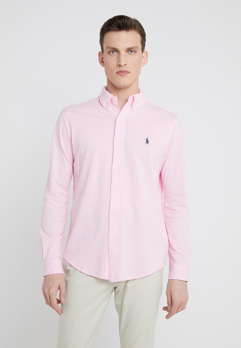 Polo Ralph Lauren - FEATHERWEIGHT MESH SHIRT - Košile - carmel pink
