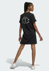 adidas Originals - LOVE UNITES T D - Jersey dress - black - 2