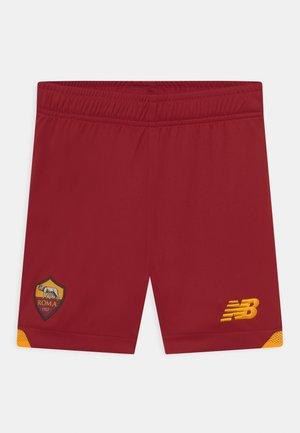 AS ROMA HOME JUNIOR UNISEX - Pantaloncini sportivi - red