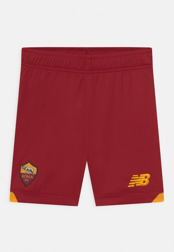AS ROMA HOME JUNIOR UNISEX - Sports shorts - red