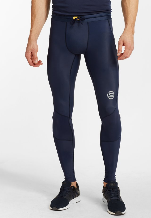 SKINS - Legging - navy blue