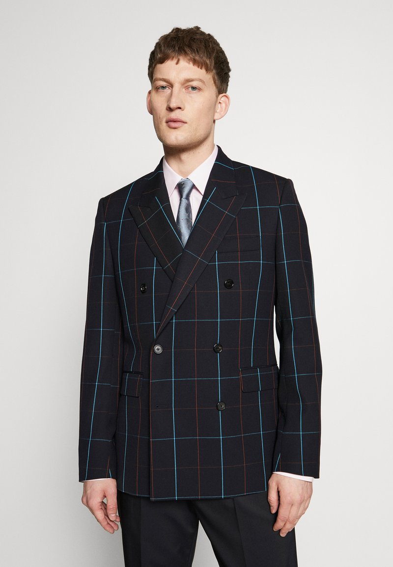 Paul Smith - GENTS JACKET CHECKED - Suit jacket - dark blue