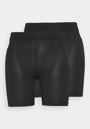 CYCLE 2 PACK - Shorts - black/black