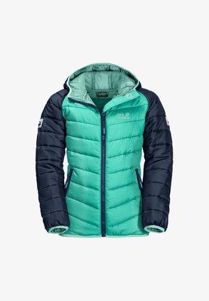 Winter coat - electric green