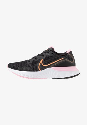 RENEW RUN - Neutral running shoes - black/orange pulse/white/pink