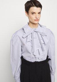 Alberta Ferretti - CAMICIA - Long sleeved top - white - 8
