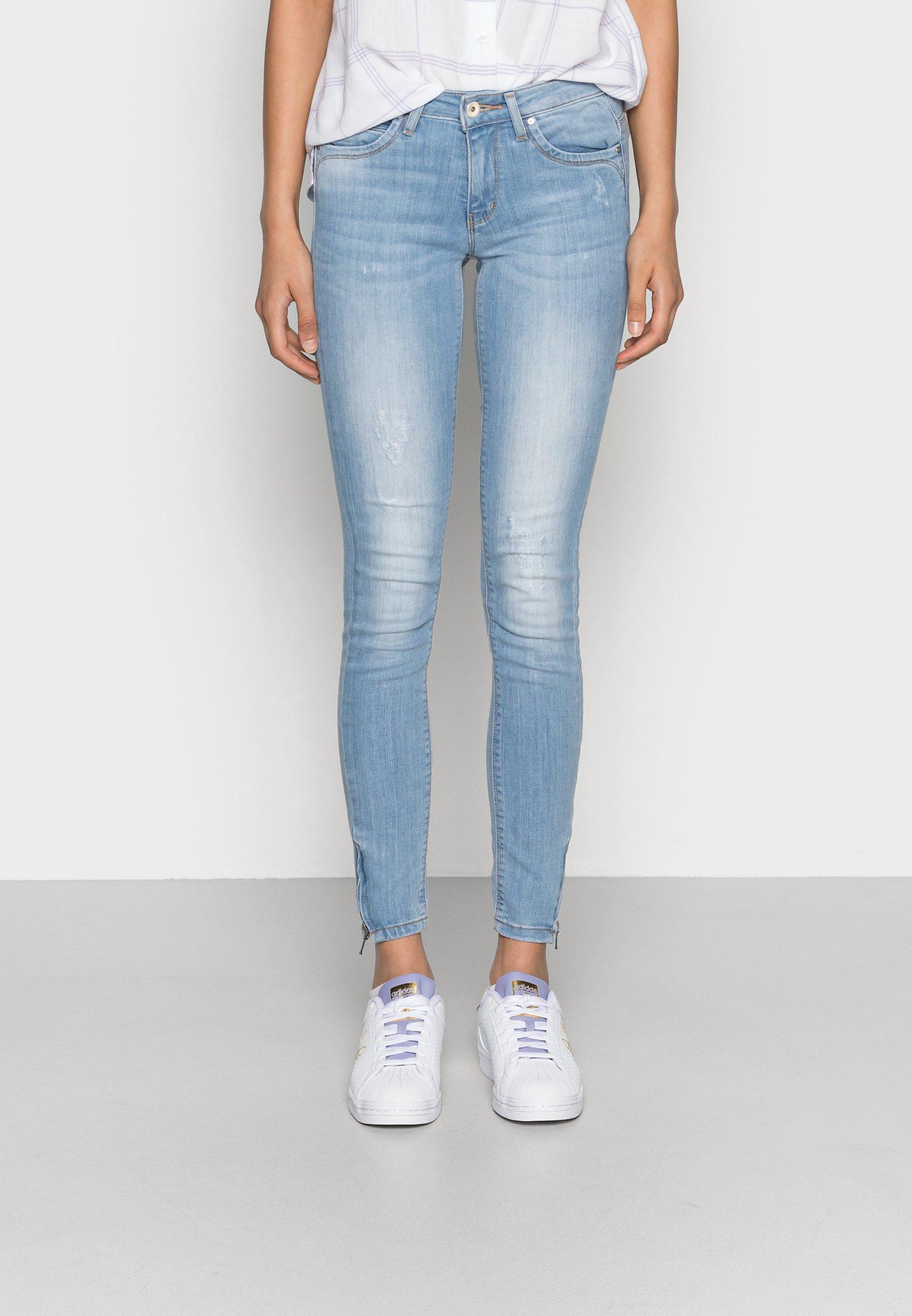 Women ONLKENDELL REGSK ANK ZIP - Jeans Skinny Fit