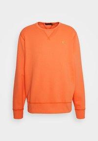 FLEECE CREWNECK SWEATSHIRT - Sweatshirt - classic peach