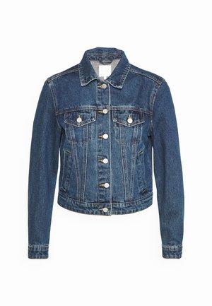 VILINDA JACKET - Denim jacket - dark blue denim