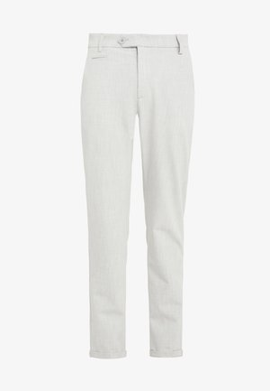 COMO LIGHT SUIT PANTS - Suit trousers - snow melange