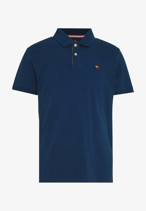 BASIC WITH CONTRAST - Polo - blue