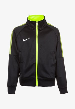 TEAM CLUB  - Sportswear - black/volt/football white