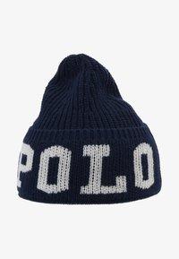 Polo Ralph Lauren - HAT APPAREL ACCESSORIES - Bonnet - real navy - 1