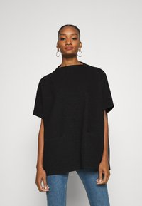 Opus - AMBERLEY LITTLE CHECK - Cape - black - 0