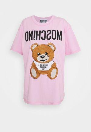 T-shirt z nadrukiem - fantasy pink