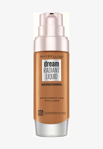 DREAM RADIANT LIQUID MAKE-UP - Foundation - 65 coconut