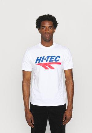 BEN - Print T-shirt - snow white