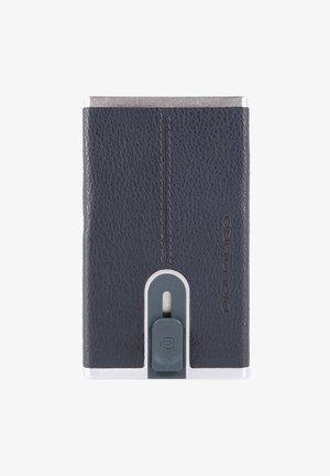 SQUARE - Business card holder - blue