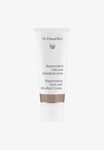 REGENERATING NECK AND DECOLLETE CREAM - Face cream - -