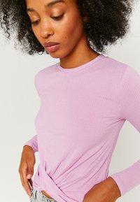 TALLY WEiJL - Long sleeved top - purple - 3