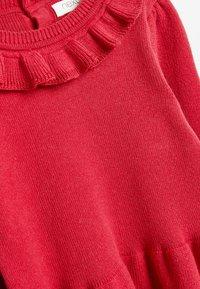 Next - FRILL NECK - Jumper dress - red - 2