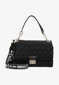 Guess - LAIKEN SHOULDER BAG - Handbag - black - 6