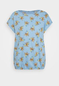Esprit - TEE - T-shirts med print - light blue - 4