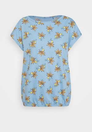TEE - Printtipaita - light blue