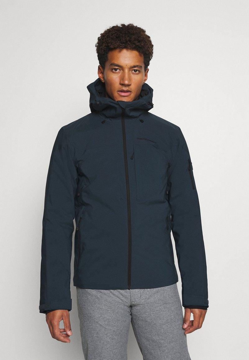 Peak Performance - MAROON JACKET - Ski jacket - blue steel
