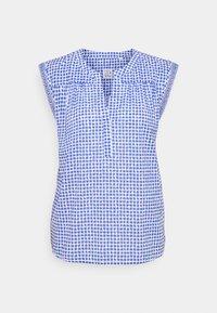 Emily van den Bergh - T-shirts print - azur/white - 0