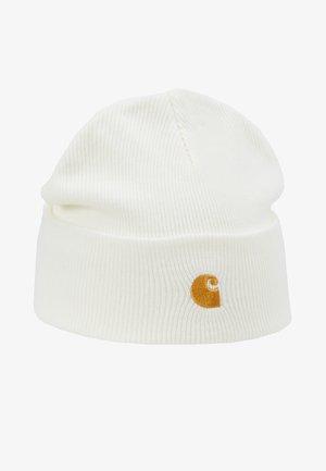 CHASE BEANIE UNISEX - Beanie - white/gold