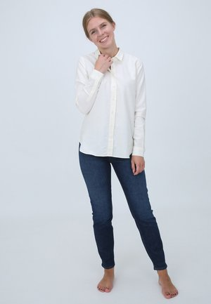 Button-down blouse - 295