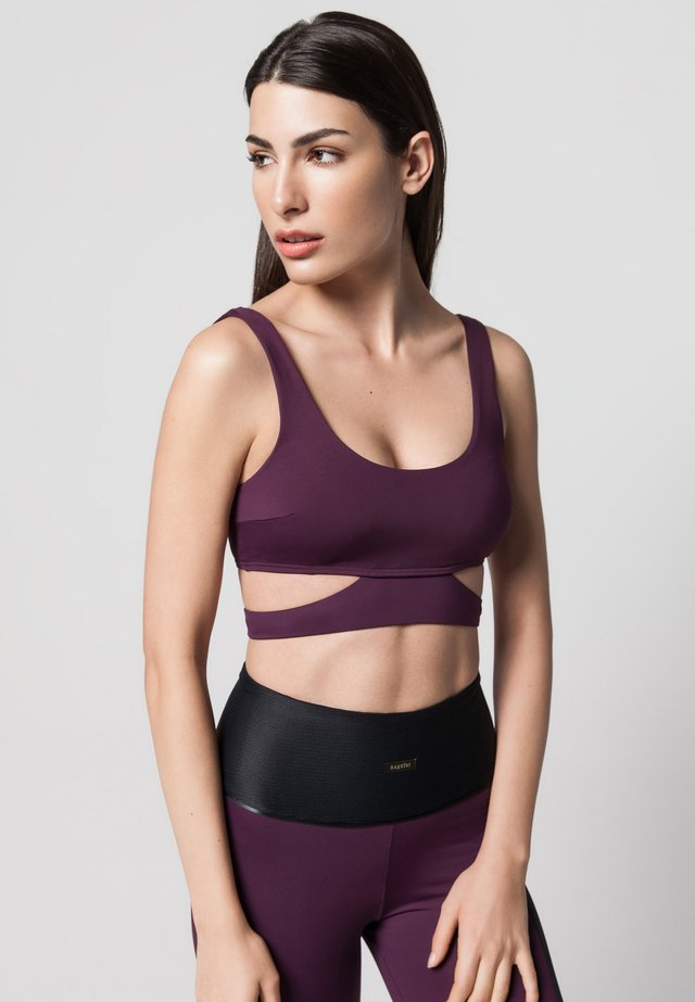 FLEX - Bustier - mulberry