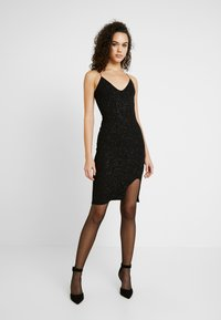 Nly by Nelly - BOMBSHELL SPARKLE DRESS - Cocktail dress / Party dress - black - 2