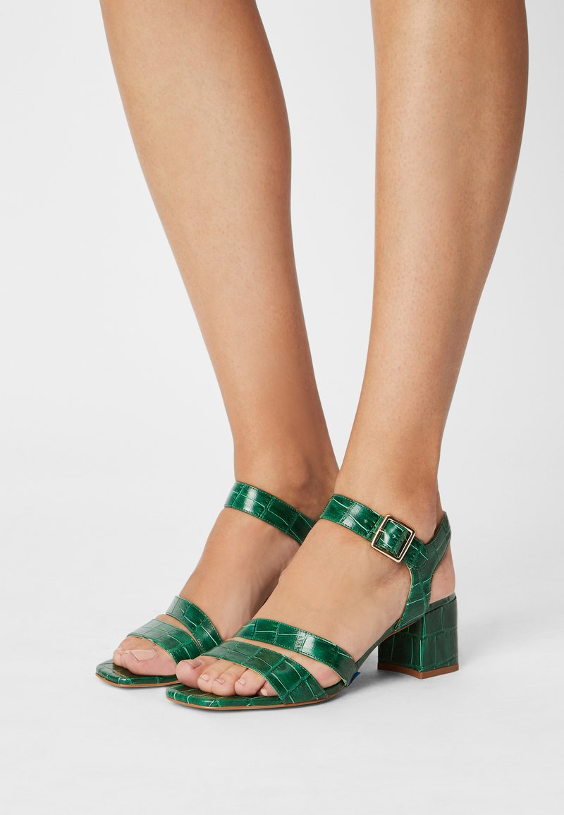 Cosmoparis - VEGAN ZAZU - Sandals - vert