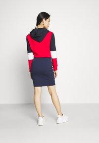 Tommy Jeans - BODYCON SKIRT - Mini skirt - twilight navy - 2