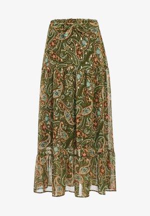 Falda plisada - vert foncé