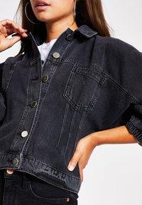 River Island - Denim jacket - black - 3