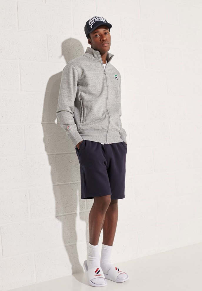 Men ESSENTIAL - Zip-up sweatshirt