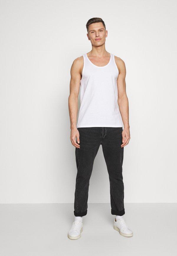Pier One 2 PACK - Top - white/biały Odzież Męska MRXM